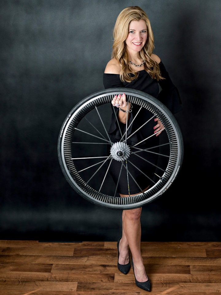 MYM black dress and wheel 2